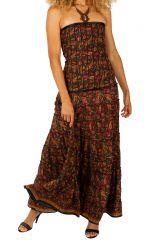 Robe longue à bustier décontractée et fluide pour l'été Myriam 305929