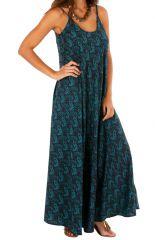 Robe longue à fines bretelles féminine et tendance Adèle 311597