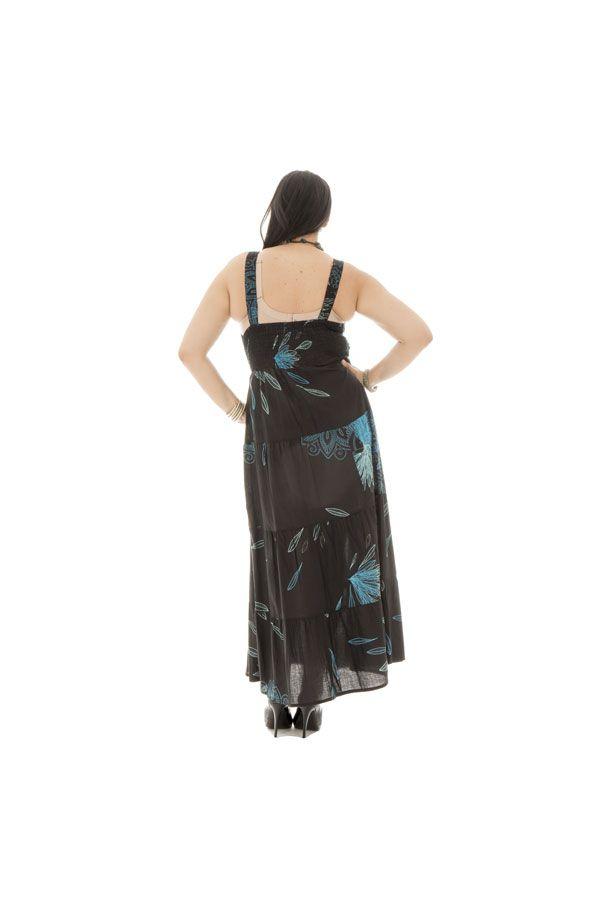 robe longue avec doublure 100% voile de coton Léonie 290180