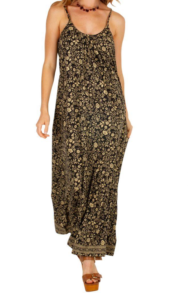 Robe longue avec un magnifique imprimé floral Marianne 306070