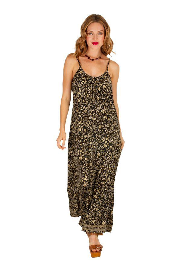 Robe longue avec un magnifique imprimé floral Marianne 306071