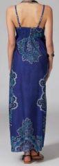 Robe longue bohème Alessandra