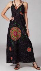 Robe longue boho ethnique Zaya 270077