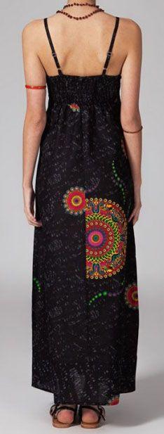 Robe longue boho ethnique Zaya