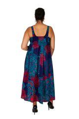Robe longue coloée de plage femme grande taille Summy 309365