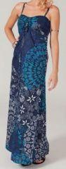 Robe longue colorée idéale pour un mariage Hina