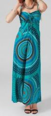 Robe longue colorée idéale pour un mariage Hinola