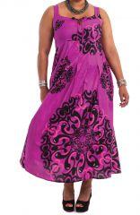 Robe longue d'été Ethnique et Colorée XXL Claudia Rose 284388