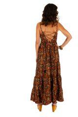 Robe longue d'été ethnique et très séduisante Eléonore 311498
