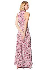 Robe longue d\'été féminine élégante chic et bohème Malina
