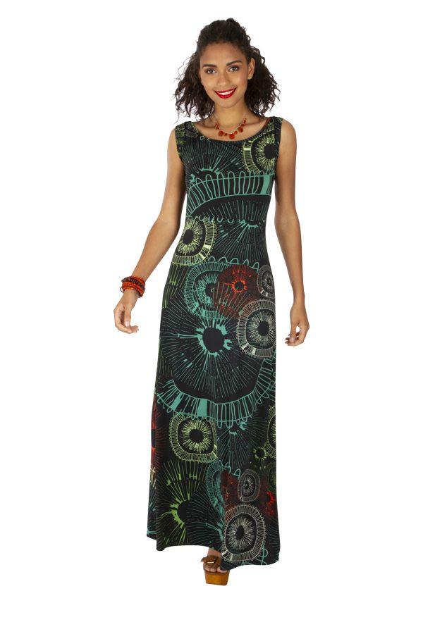 Robe longue d'été femme originale pour mariage Lynda 318522
