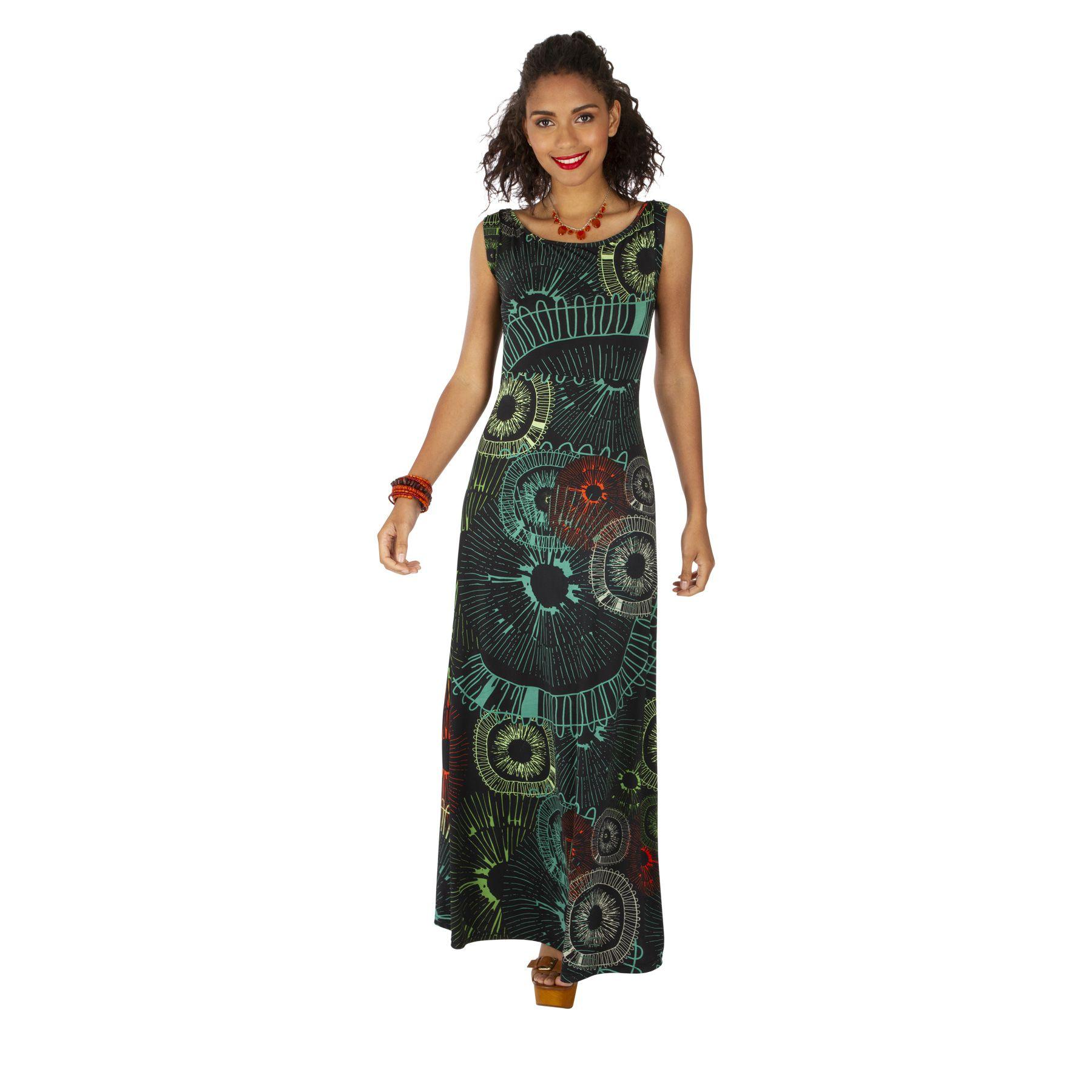 Robe longue d'été femme originale pour mariage Lynda 318524