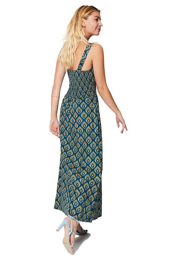 Robe longue d\'été femme tendance chic et originale Géraldine