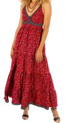 Robe longue d'été glamour et très originale Marion 311493