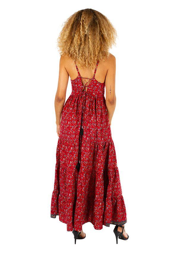 Robe longue d'été glamour et très originale Marion 311495