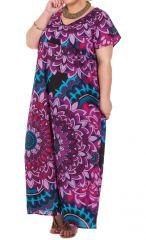 Robe longue d'été Kenzy Imprimée et Colorée à Mandalas 284247