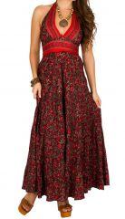 Robe longue d'été originale et agréable à porter Adeline 310252