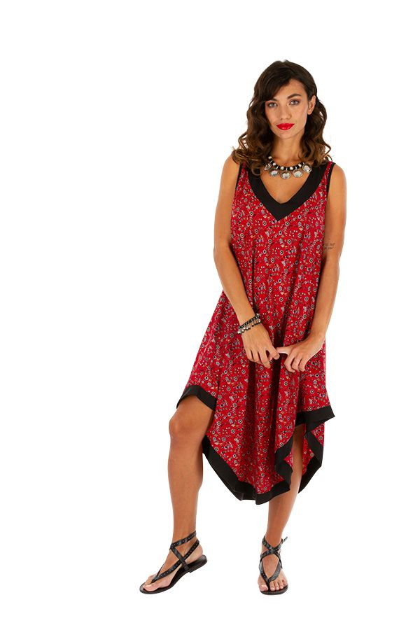 Robe longue d'été pour femme agréable et ethnique Amalia 311631