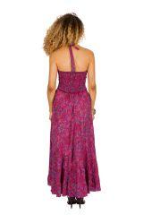 Robe longue d'été très colorée et confortable Ludivine 310267