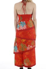 Robe longue d'été très colorée et originale Sabrina 310952