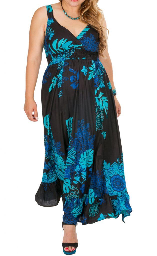 Robe longue de cérémonie femme grande taille Pathy 309366