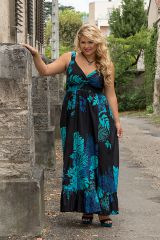 Robe longue de cérémonie femme grande taille Pathy 309369