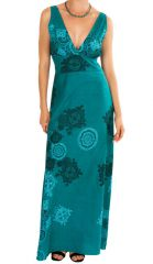 Robe longue décolletée Amalia 312567