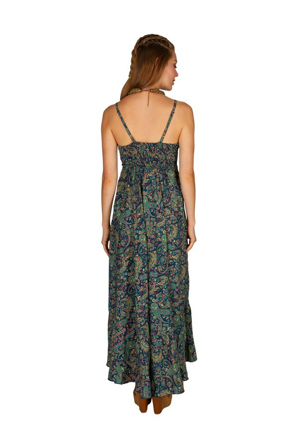Robe longue décontractée avec un imprimé coloré Gladys 306052