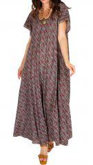 Robe longue décontractée pour un look vintage Sohana 307007