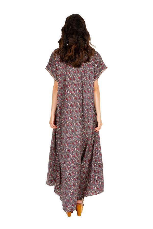 Robe longue décontractée pour un look vintage Sohana 307009