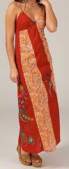 Robe longue droite d'été Ethnique et Originale Zazou 279386