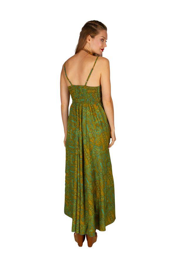 Robe longue élégante style bohème tendance mode de l'été 2019 Alixa 305997