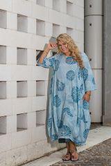 Robe longue en coton léger femme grande taille June 308492