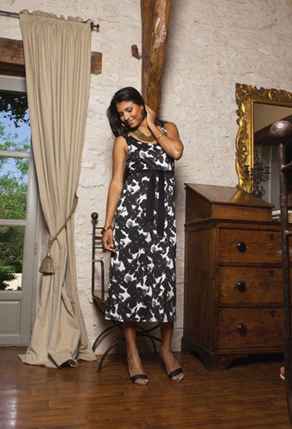 Robe longue été colorée Camille 2 318805