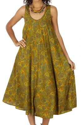 Robe longue été femme ethnique ample et fluide Kirakiry