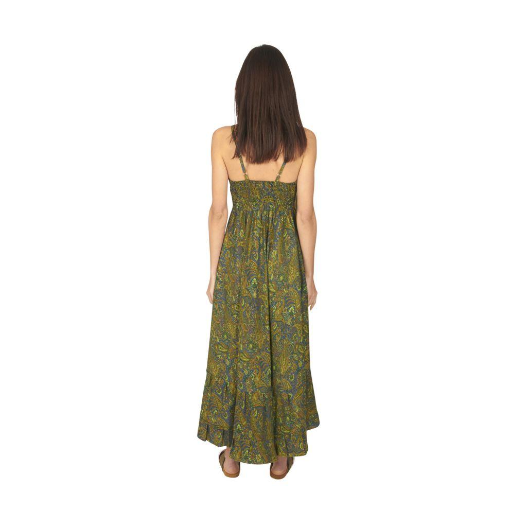 Robe longue été femme ethnique aux imprimés bohèmes Faby 316878