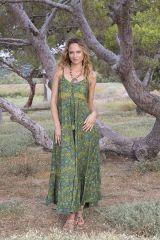 Robe longue été femme ethnique aux imprimés bohèmes Faby 316882