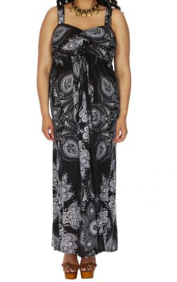 Robe Longue Ete Grande Taille Chic Et Pas Chere Lakenaly