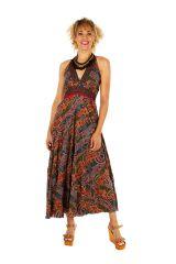 Robe longue ethnique et colorée très féminine Stéphanie 310680