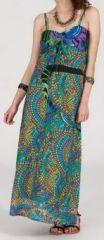 Robe longue ethnique et originale - mosaique - Liliana 271900