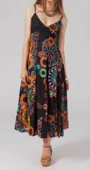 Robe longue ethnique mathy 268062