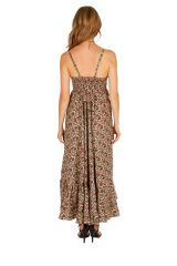 Robe longue ethnique ultra tendance et féminine Flora 311480