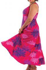 Robe longue Féminine Ethnique et à Volants Steffy Rose 284448