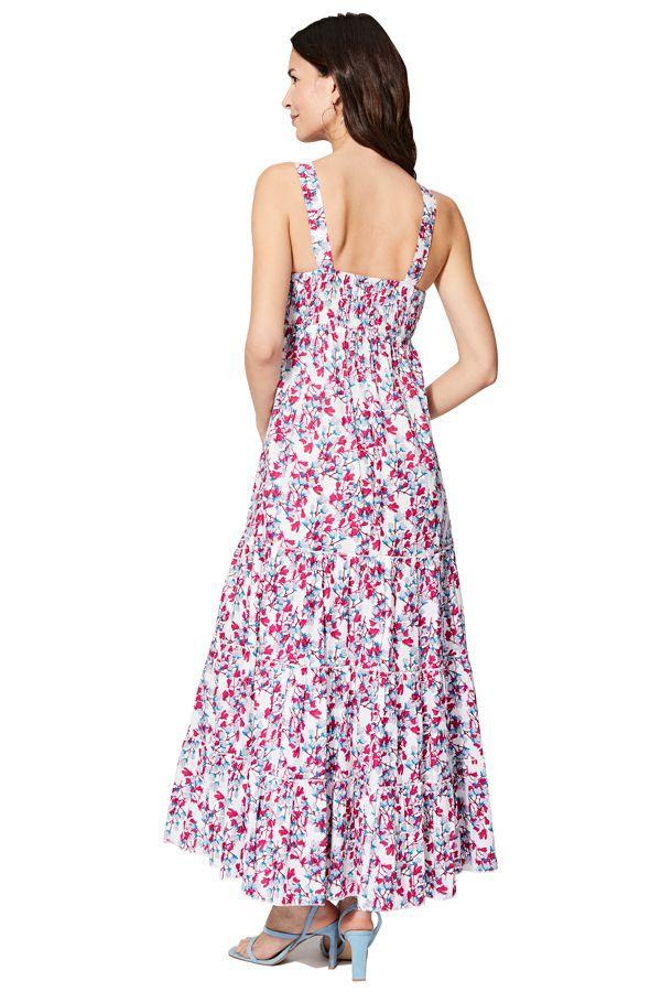 Robe longue femme imprimé bohème chic floral Graciella