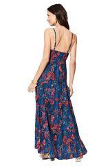Robe longue femme tendance tropical pour mariage Imama