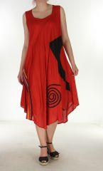 Robe longue fluide Anis d'été Flamya 299590