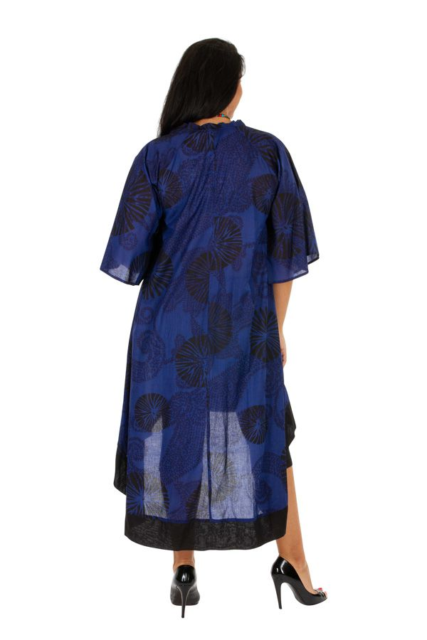 Robe longue grande taille aux imprimés ethniques Varsie 309791