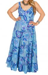 Robe longue grande taille pour cérémonie mariage Linda 308518