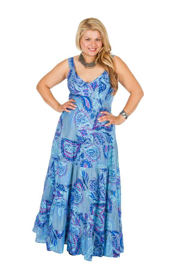 Robe longue grande taille pour cérémonie mariage Linda 308519