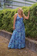 Robe longue grande taille pour cérémonie mariage Linda 308521
